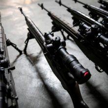 Kariuomenė iš gyventojų paramos modernizavo amerikietiškus šautuvus