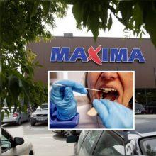 """""""Maximos"""" darbuotojai Ariogaloje nustatytas koronavirusas: simptomų ji nejautė"""