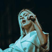 Per koncertą Trakų pilyje M. Linkytė atskleidė didžiulę paslaptį