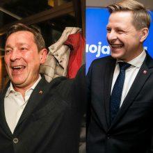 Vilniaus mero rinkimai – be netikėtumų: pirmauja R. Šimašius ir A. Zuokas