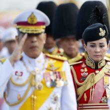 Tailande artėjant karūnavimo ceremonijai – netikėtas žingsnis