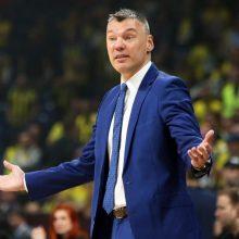 """Š. Jasikevičius: jei neapsiginsime, pralaimėsime ir """"Panathinaikos"""""""