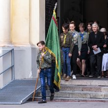 Vilniuje perlaidoti signataro M. Biržiškos palaikai