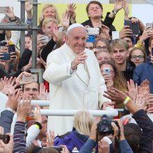 Bendroji audiencija Vatikane: popiežius kalbėjo apie Baltijos šalis