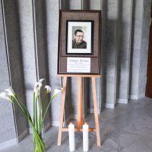 Vilniuje – atsisveikinimas su V. Šerėnu