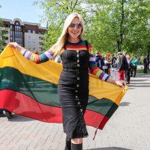 Keli šimtai žmonių Vilniuje reikalauja lygių teisių