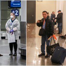 Vilniuje nusileido lėktuvas su keleiviu, kuriam įtariama užkrečiama liga