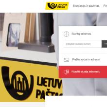 Sukčiai bando išvilioti pinigus prisidengdami netikra Lietuvos pašto svetaine