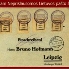 Lietuvos pašto ženklo šimtmetis: sukurtas ir atspausdintas per naktį