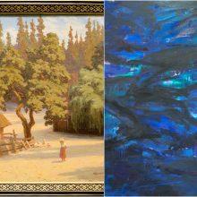 A. Žmuidzinavičiaus ir R. Jankausko-Kampo paveikslai aukcione žada kainų rekordus