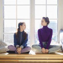 Įveikti sunkumus paaugliai mokosi iš tėvų