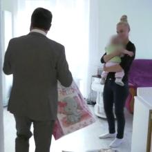P. Gražulis nusileido ir reguliariai mokės alimentus nesantuokinei dukrai?