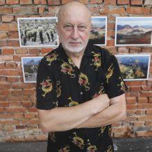 Fotomenininkas R. Požerskis mini 70-metį