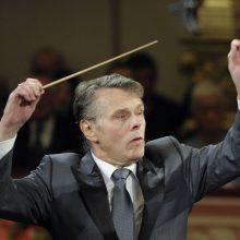 Mirė žinomas Latvijos dirigentas M. Jansonas