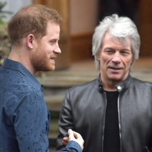 Princas Harry įrašė dainą su Jonu Bon Joviu