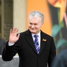 Prezidentas: skaudu, kad V. Landsbergis nuo šiol Kovo 11-ąją jaus ir asmeninę netektį