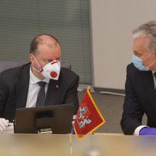 Prezidento žodžiuose dėl VTEK sprendimo įžvelgė valdantiesiems skirtą žinutę