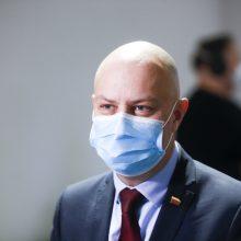 Situaciją dėl NVSC įvertino ir A. Veryga: politikų nuomonės išsiskyrė