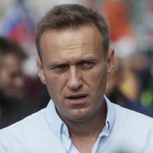 Vokietija suteikė teisinę pagalbą Rusijos tyrimui dėl A. Navalno apnuodijimo