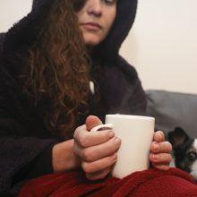 Per savaitę sergančiųjų gripu – keturis kartus daugiau