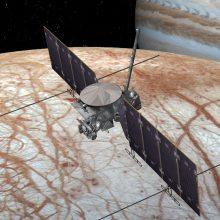 NASA patvirtino: erdvėlaivis tirs Jupiterio palydovą Europą