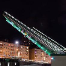 Klaipėdoje bus keliamas Pilies tiltas