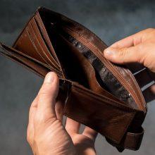 Klaipėdos pareigūnai sulaikė pinigines iš jaunuolių vogusį vyrą