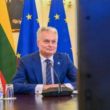 G. Nausėda: Minsko režimas toliau niekina baltarusių teisę patiems kurti ateitį