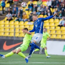"""""""Riterių"""" futbolininkai sužaidė lygiosiomis su Farerų salų komanda"""