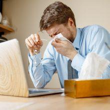 Padaugėjo sergančiųjų peršalimo ligomis: daugiausia ligonių – Kauno apskrityje