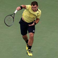 """R. Berankis prestižiniame """"US Open"""" turnyre žais su vienu iš atrankos laimėtojų"""