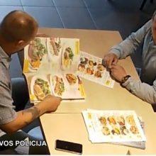 Vilniaus policija prašo pagalbos: gal atpažįstate vagyste įtariamus vyrus?