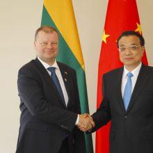 Lietuva tikisi jau netrukus padidinti produktų eksportą į Kiniją penkis kartus