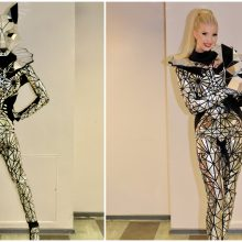 I. Stumbrienė: projekte sutikau dalyvauti tik su sąlyga, kad dėvėsiu gražiausią kostiumą