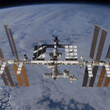 Kosminėje stotyje – naujos problemos: sugedo oro kondicionierius