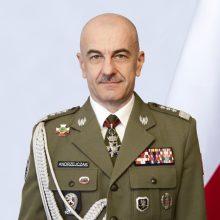 Į Lietuvą atvyko Lenkijos kariuomenės vadas