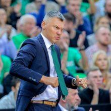 Kova dėl kamuolių nusivylęs Š. Jasikevičius: yra pergalių, kurios nedžiugina