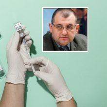 V. Kasiulevičius apie koronaviruso situaciją ir skiepijimą: siūlau padaryti penkis darbus