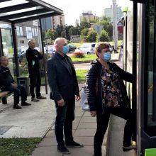 Į Kauno viešąjį transportą grįžta ne tik prekyba bilietais