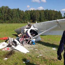 Prie Maskvos nukritus lengvajam lėktuvui žuvo pilotas, sužeistas vaikas