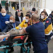 Žemės drebėjimo Irano ir Turkijos pasienyje aukų padaugėjo iki devynių