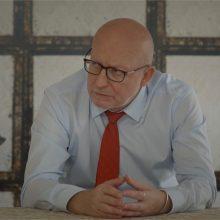 Kriminaliniame seriale vaidinantis A. Valinskas: tai grąžino į politiką