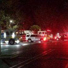 Širdį veriantis žiaurumas: amerikietis nušovė savo keturis vakarieniavusius kaimynus