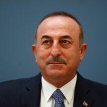 Turkijos diplomatijos vadovas: šalis pasirengusi priimti rusiškas raketų sistemas