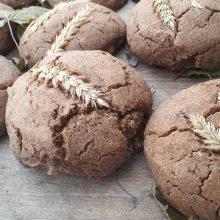 Dublis: iškepusi duonelė viliojo ne tik išvaizda, bet ir kvapu.