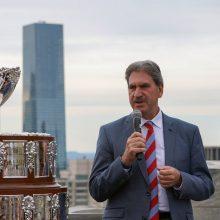 Į Lietuvą atvyks Tarptautinės teniso federacijos prezidentas