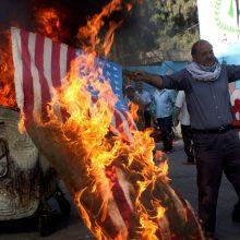 JAV pradeda Artimųjų Rytų taikos planą, bet palestiniečiai jį boikotuoja