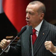 Turkijos valdžia nurodė suimti 249 Užsienio reikalų ministerijos darbuotojus