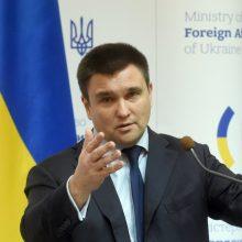 Atsistatydina Ukrainos URM vadovas P. Klimkinas