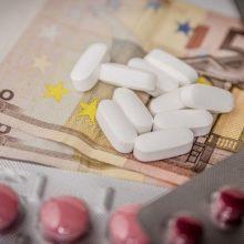 Svarbi žinia sergantiems: dvigubai sumažėjo priemokos gyvybiškai svarbiems vaistams